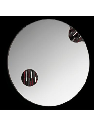 Cosmos Round Mirror