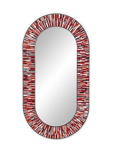 Stadium Red Mirror