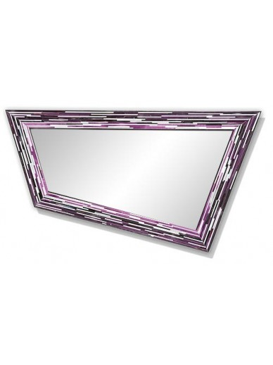 Rhombus Pink Mirror