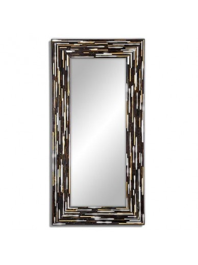 Big Q Dark Modern Mirror