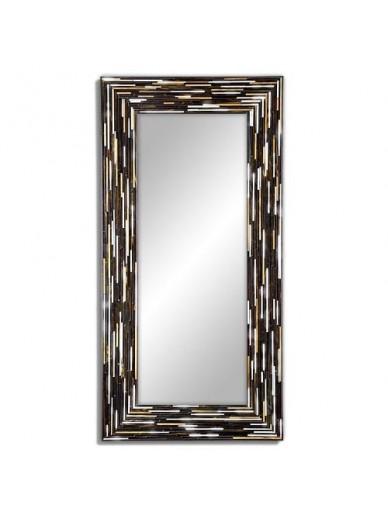 Big Q Dark Modern Mirror