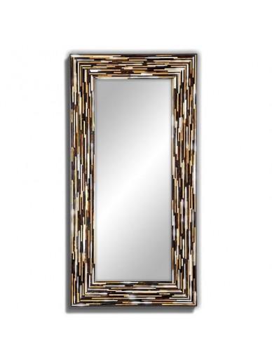 Big Q Beige Modern Mirror