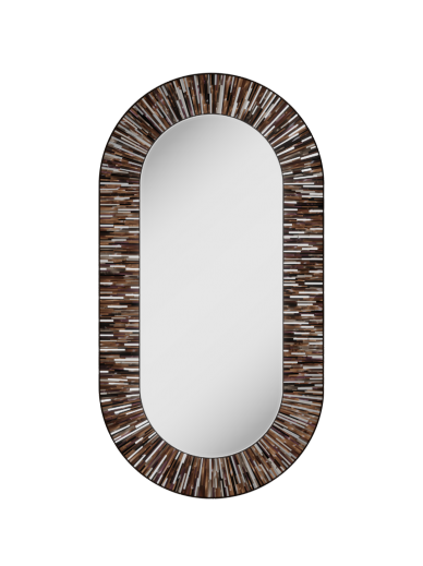 Stadium Light Brown Mirror