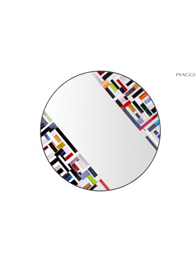 Abstract Double Rotated Multicolor