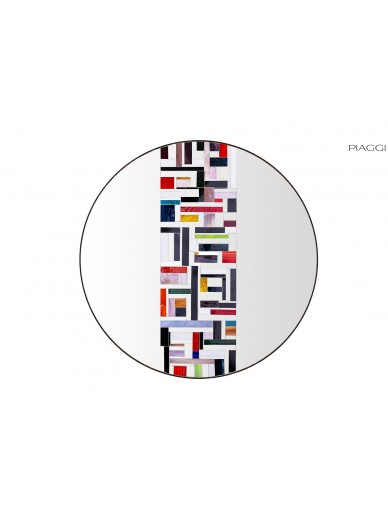 Abstract Single Multicolor