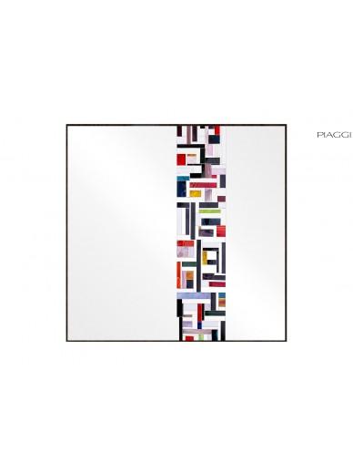 Abstract Square Single Multicolor