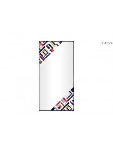Abstract Rectangle Double Multicolor