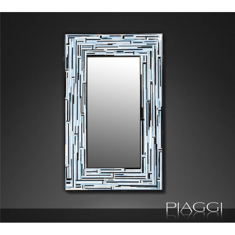 Contemporary mirrors: Barbadella Blue