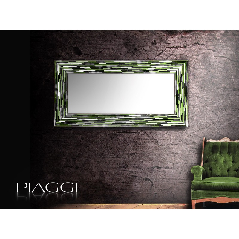 Big Q Green - contemporary mirrors