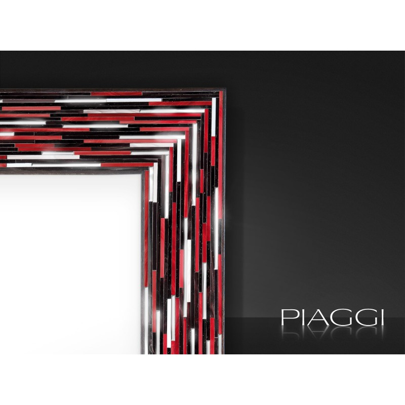 Contemporary mirrors: Big Q Red