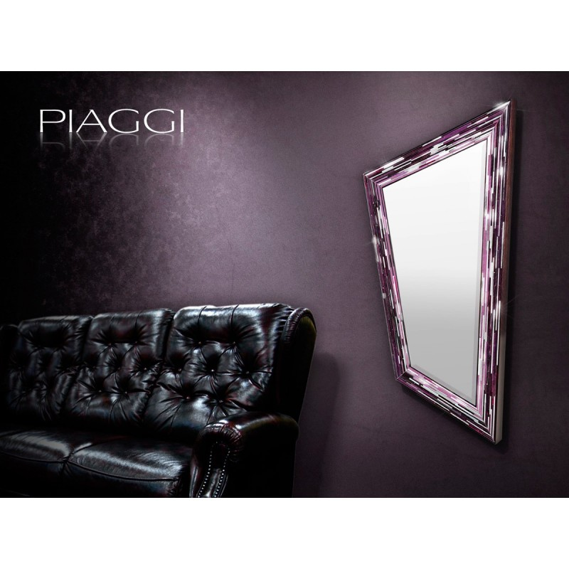 Contemporary mirrors: Rhombus Pink