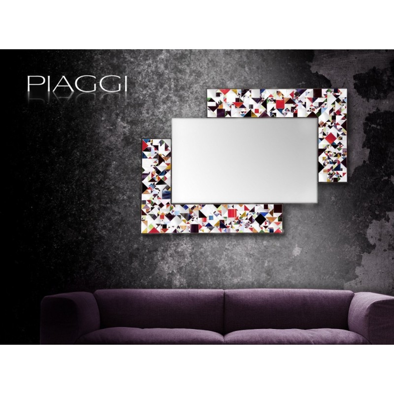 Contemporary mirrors: Kaleidoscope Multicolour