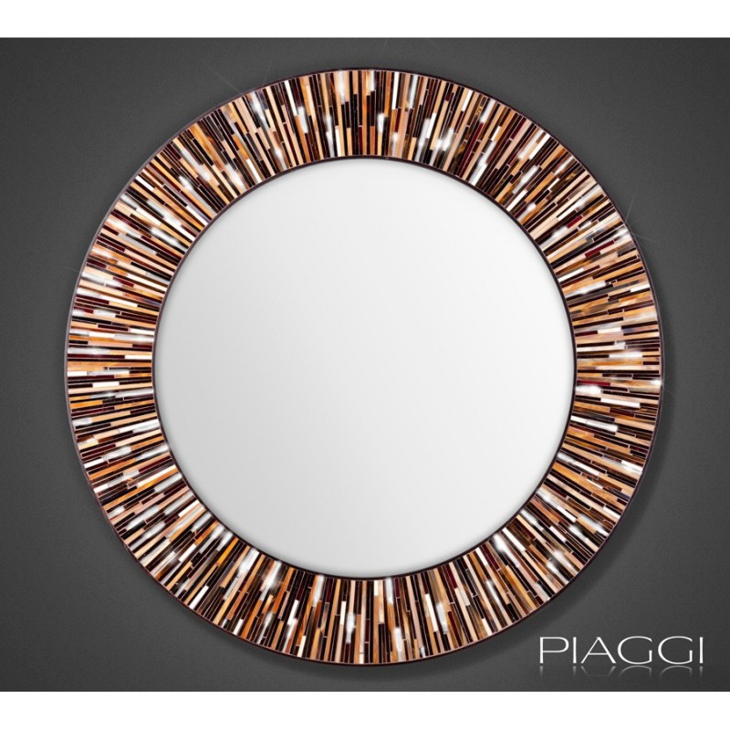 Roulette Light Brown - contemporary mirrors