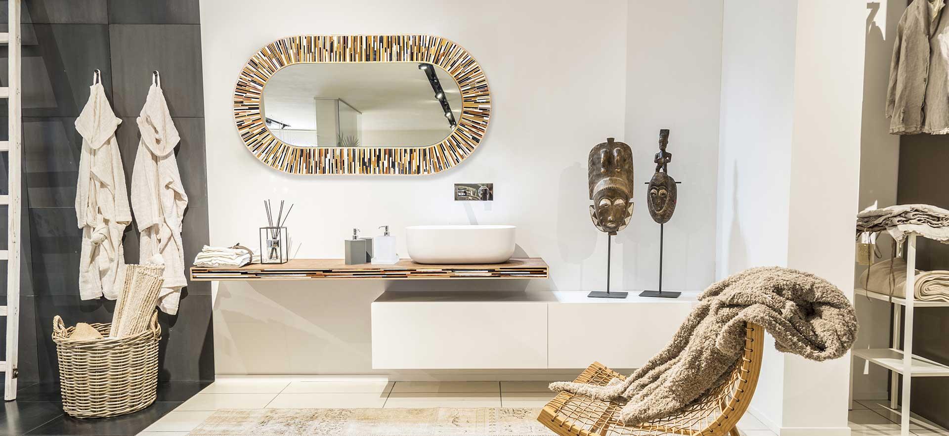 Contemporary Mirrors Home Designs:Round Bathroom Mirrors Modern ...