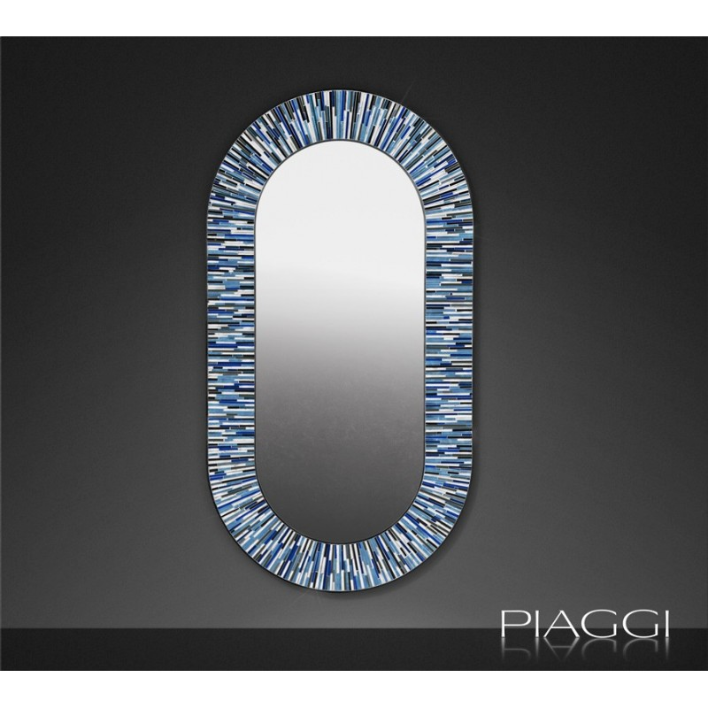 Contemporary mirrors: Stadium Navy Blue